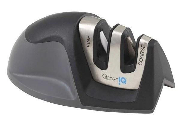 KitchenIQ Edge Grip 2 Stage Knife Sharpener $5.99!