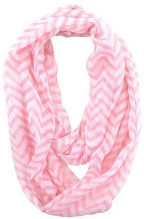 Sheer Chevron Infinity Scarf Only $3.59 + FREE Shipping!
