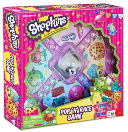 Shopkins Pop 'N' Race Game Just $7.60!