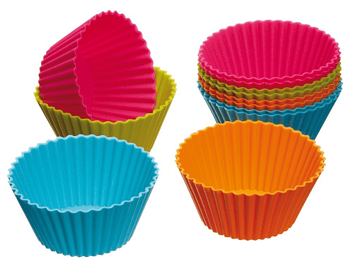 Silicone Cupcake Cases 12ct Just $3.40 + FREE Shipping!
