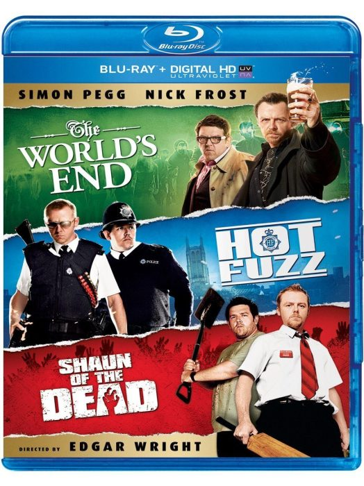 The World's End / Hot Fuzz / Shaun of the Dead Trilogy [Blu-ray] Just $17.99!