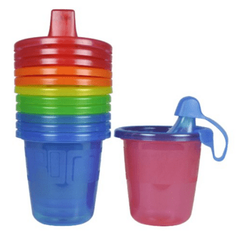 The First Years Take & Toss Spill-Proof Sippy Cups - 7 Oz, 6 Pack Just $2.43 Down From $6!