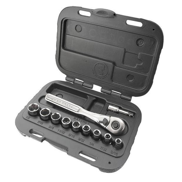 Craftsman 11 pc. 6 pt. Standard 1/4 in.Socket Wrench Set Only $9.99! (Reg. $20)!