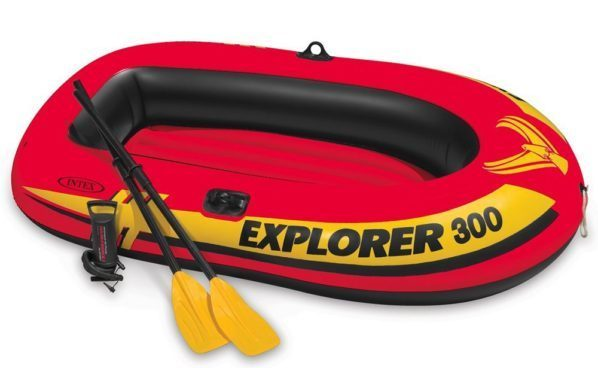 3-Person Inflatable Boat With Oars & Air Pump Only $29.95! (Reg. $48)