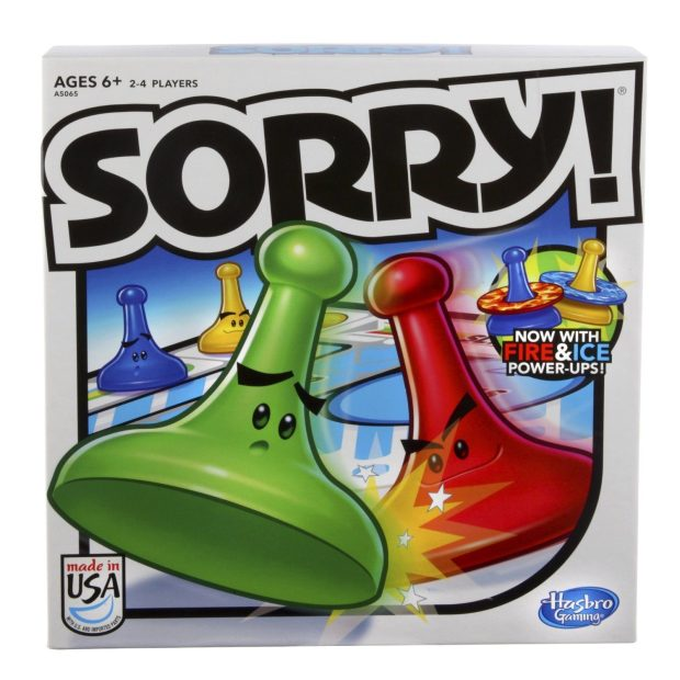 Sorry! Board Game Only $7.87!