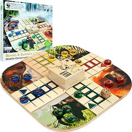 Trademark Games Zoo Animals Wood Board Game Just $13.34! Down From $30.99!