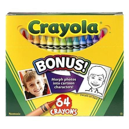 Crayola Crayons with Built In Sharpener Just $3.01! Down From $6.35!