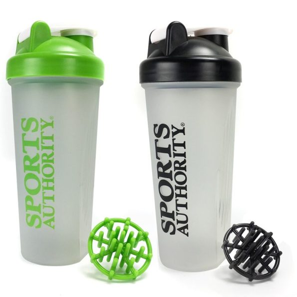 20 Ounce Sports Authority Shaker Bottle Just $5.49, 2 For $8, or 3 For $10! Ships FREE!