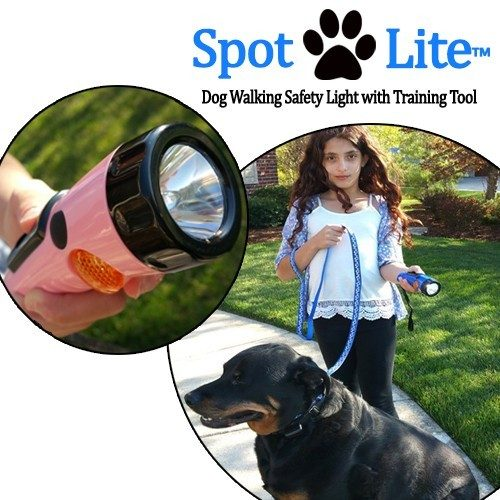 Spot Lite Dog Training Kit - Leash & CREE LED Flash Light with Clicker Tool Just $4.99! Down from $39.99! Ships FREE!