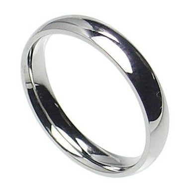 4mm Stainless Steel Wedding Band Only $6.96 Shipped!