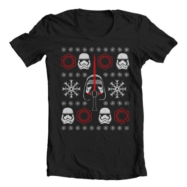 Star Wars The Force Awakens Inspired Christmas T-Shirt Only $9.99!  Ships FREE!