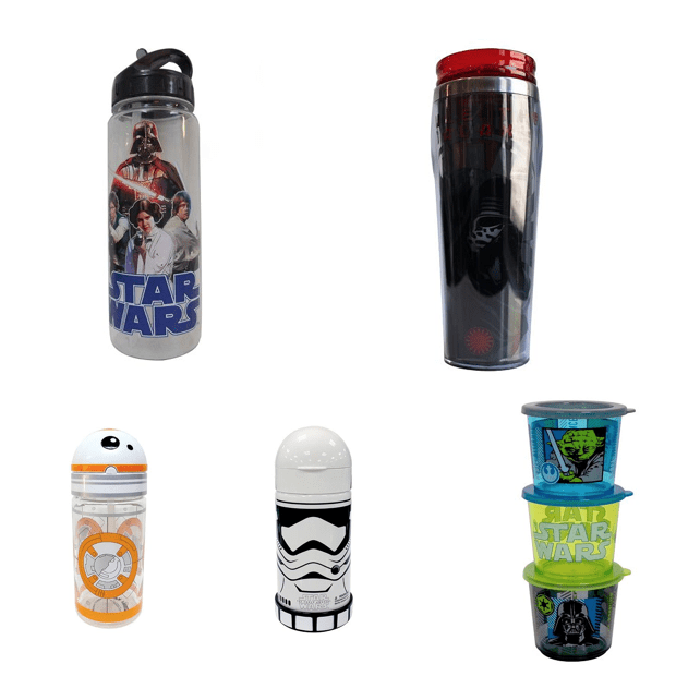 Select Star Wars Apparel, Home & Games 40% to 50% Off!  As Low As $2.12!