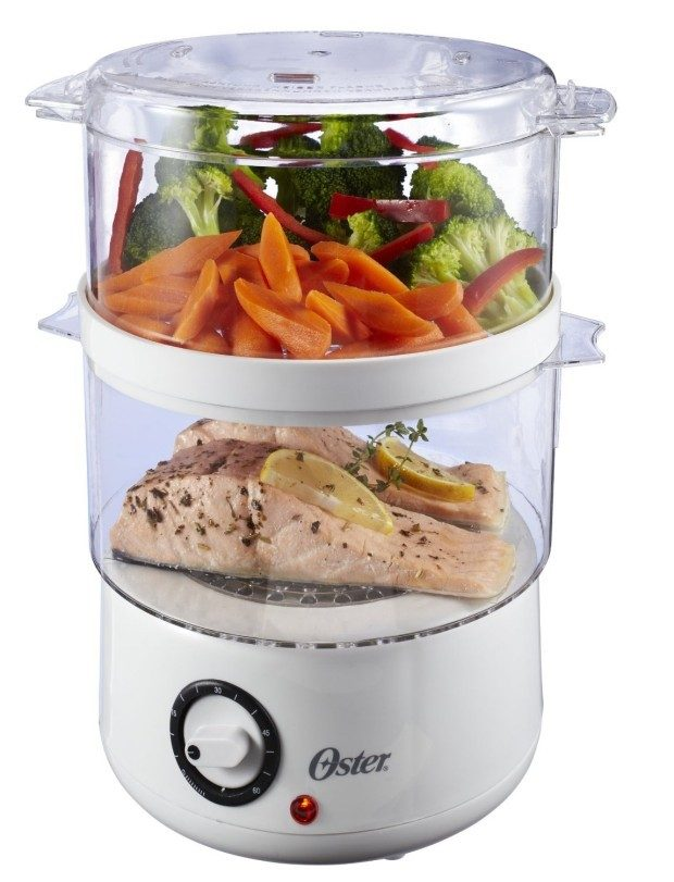 Oster 5-Quart Food Steamer Only $13.84 - Over Half Off!