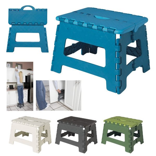 Light-Weight Foldable Stepping Stools 2 Pack- 300lb Capacity Only $14.99! Ships FREE!!
