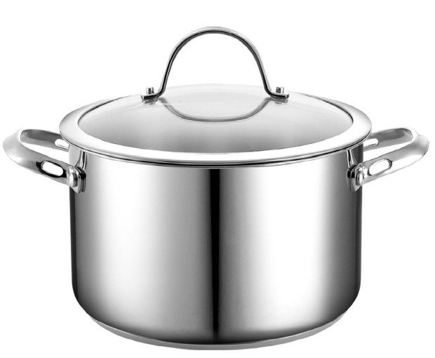 Stainless Steel 6 Quart Covered Stockpot Only $22.99!