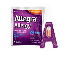 FREE Allegra Allergy Sample!