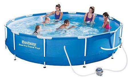 Cardholders! 12-ft. Steel Pro Frame Pool Just $87.49! (Reg. $250!)