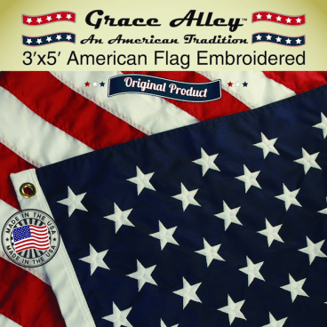 Grace Alley American Made American Flag Only $28.62! (Reg. $50)