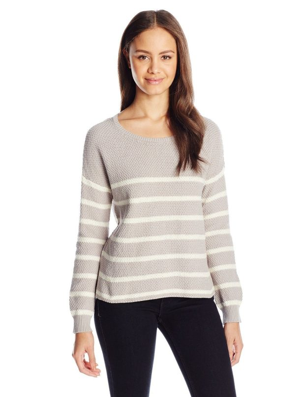 Juniors Crew-Neck Boxy Pullover Sweater Only $13.21!  (Reg. $40!)