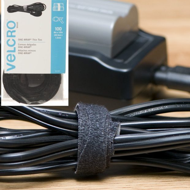 VELCRO - ONE-WRAP Self-Gripping Cable Ties, 100 Pack Just $5.99 (Reg $12.50)!