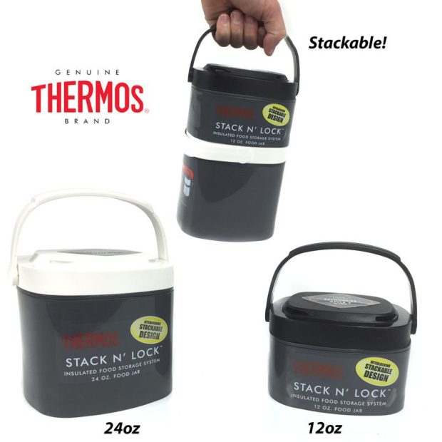 Thermos Stack N' Lock Insulated Food Storage System Starting At $6.49! Ships FREE!