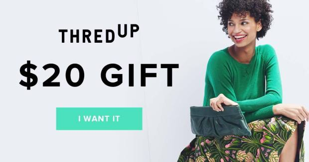 FREE $20 To Spend at ThredUP!