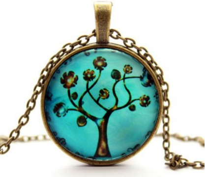 MAKIYO Life Tree Pendant Necklace Just $4 Down From $9!