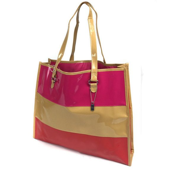 Tri Color Fashion Tote Just $10.99! Ships FREE!