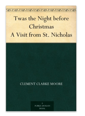 FREE Twas the Night before Christmas eBook!