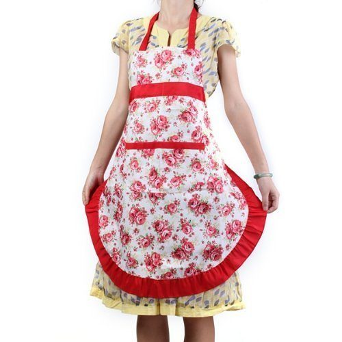 Vintage Floral Apron Only $4.90 + FREE Shipping!