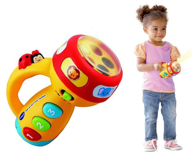 VTech Spin and Learn Color Flashlight Only $9.85 Plus FREE Shipping!