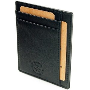 Leather Front Pocket Wallet Only $11.99 Plus FREE Shipping!