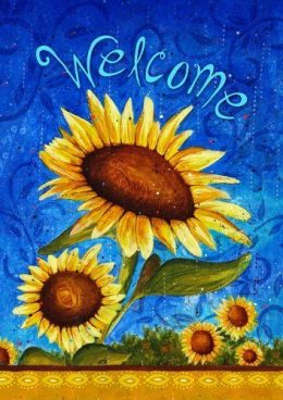 "Sweet Sunflowers 28"" x 40"" Double-Sided Flag Only $13.61 (Reg. $22)"