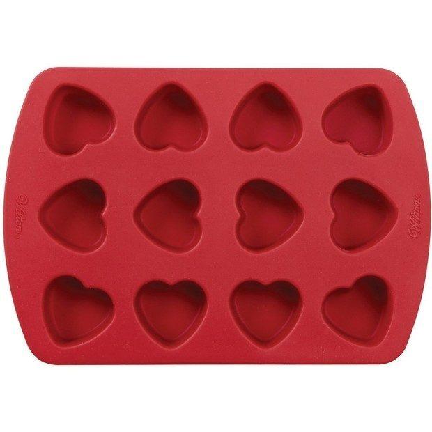 Wilton Petite Silicone 12 Cavity Heart Pan Only $7.73! (Reg. $21)