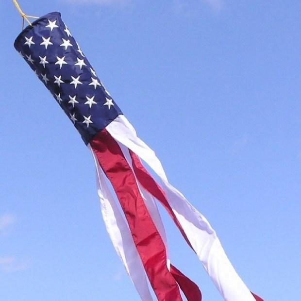 60-inch American Flag Windsock Just $9.99! (reg. $17)