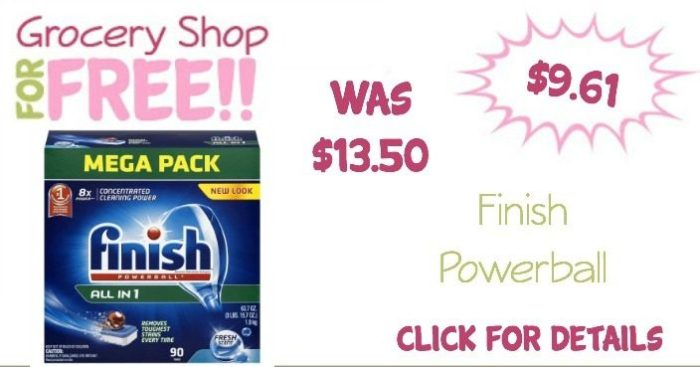 Finish Powerball 90 Count Just $9.61 + FREE Shipping!