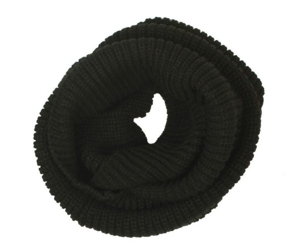 Wool Knit Infinity Scarf $5.19 plus FREE Shipping!