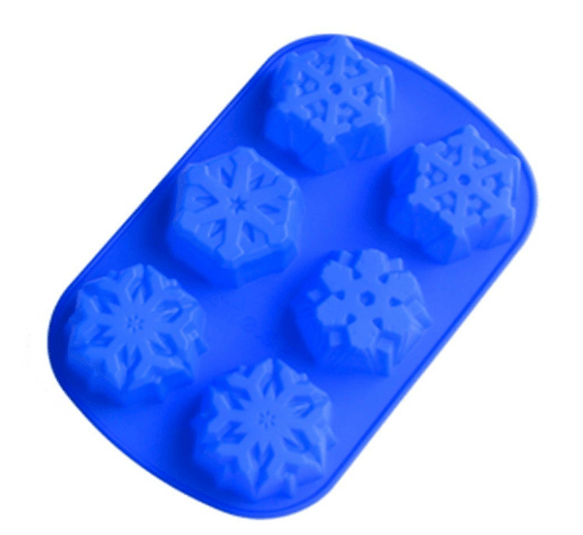 Snowflakes Silicone Cake Mold Only $7.29 + FREE Prime Shipping!