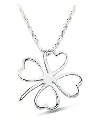 Sterling Silver & Swarovski Crystal Clover Pendant Only $3.72 Shipped!