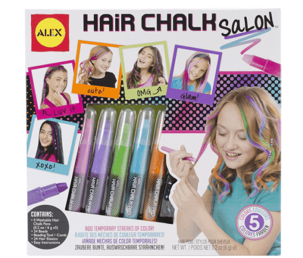 *PRICE DROP* ALEX Toys Hair Chalk Salon Craft Kit ONLY $11.22 + FREE Prime Shipping (WAS $15)!
