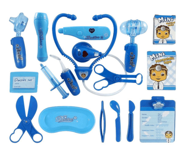 17-Piece Doctor Medical Kit Playset for Kids ONLY $12.95 + FREE Prime Shipping (WAS $18)!