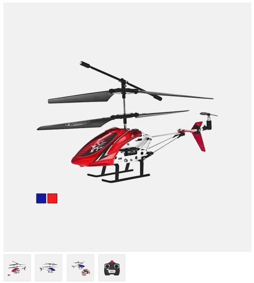 The Repeller 3.5-Channel RC Helicopter $17.99 + FREE Shipping (Reg. $70)!