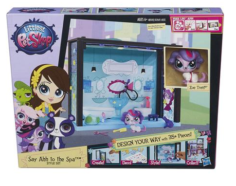 Littlest Pet Shop Say Ahh to the Spa Style Set Only $9 + FREE Store Pickup (Reg. $15)!