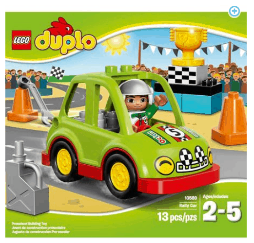 ROLLBACK!  LEGO DUPLO Town Rally Car ONLY $10.32 + FREE Pickup (WAS $15)!