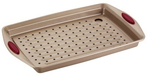 Rachael Ray 2 Piece Cucina Nonstick Bakeware Crisper Pan Set Just $15.99!
