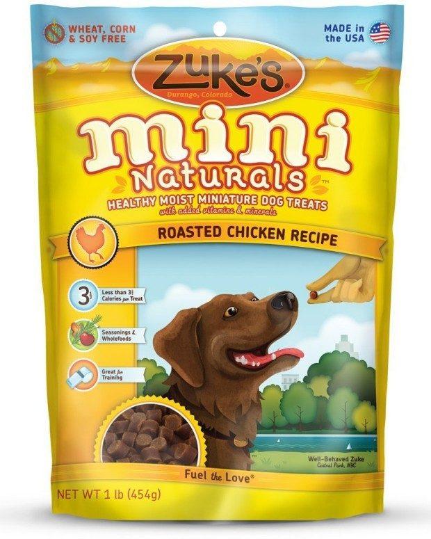 Zuke's Mini Naturals Healthy Moist Training Treats Just $6.82!  (Reg. $10)