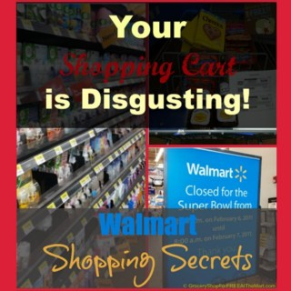 Walmart Shopping Secrets: Your Shopping Cart is Disgusting!