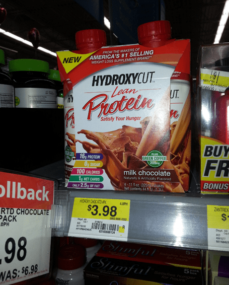 Hydroxycut Protein Shakes FREE PLUS $1.02 Overage At Walmart!