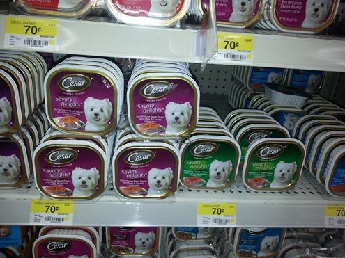 Cesar Dog Food Just $0.36 At Walmart!