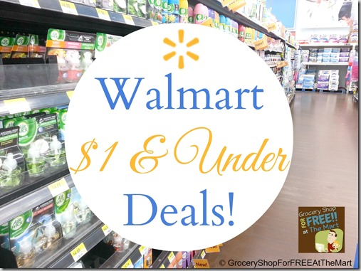 Walmart $1 and Under Deals at Walmart!